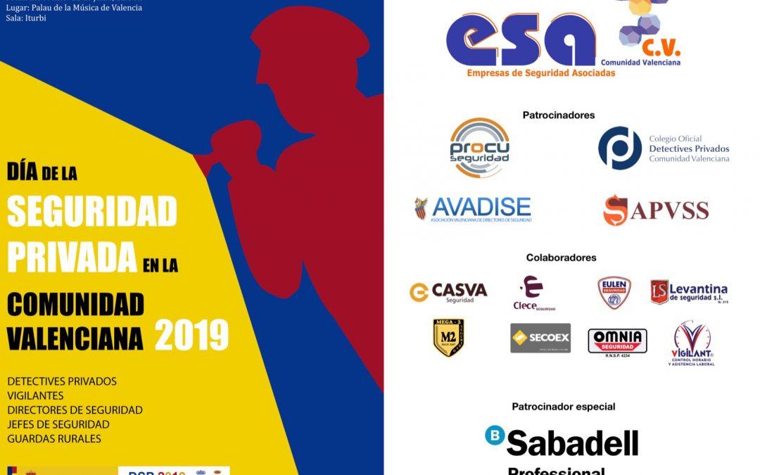DÍA DE LA SEGURIDAD PRIVADA DE LA COMUNIDAD VALENCIANA 2019